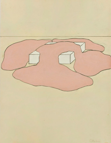 83_Untitled_1967_DrawingRelatedtoSculpture_Gary_Kuehn