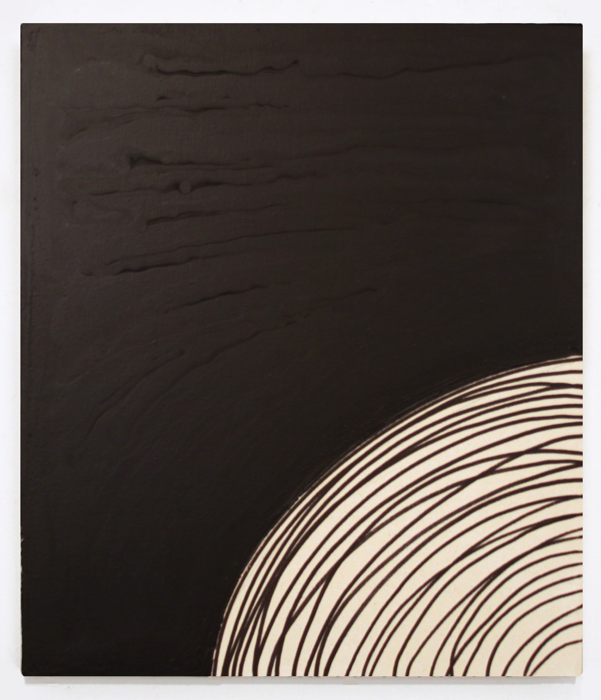K_Black_Painting_2012_2010s_Gary_Kuehn