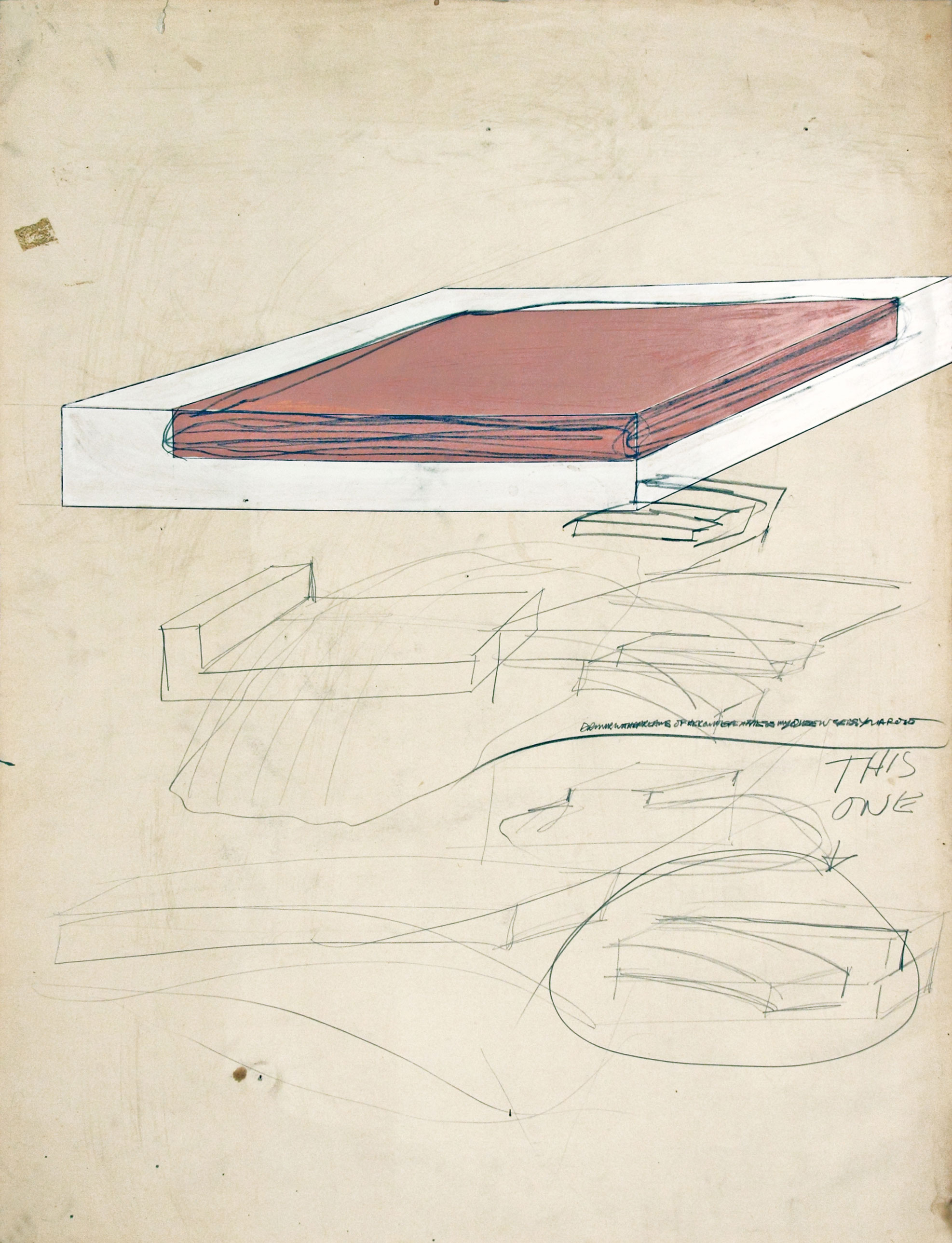 P_32_Untitled_Drawing_1965_1960s_Drawings_Related_To_Sculpture_Gary_Kuehn